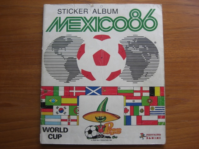 Sticker album Mexico 86