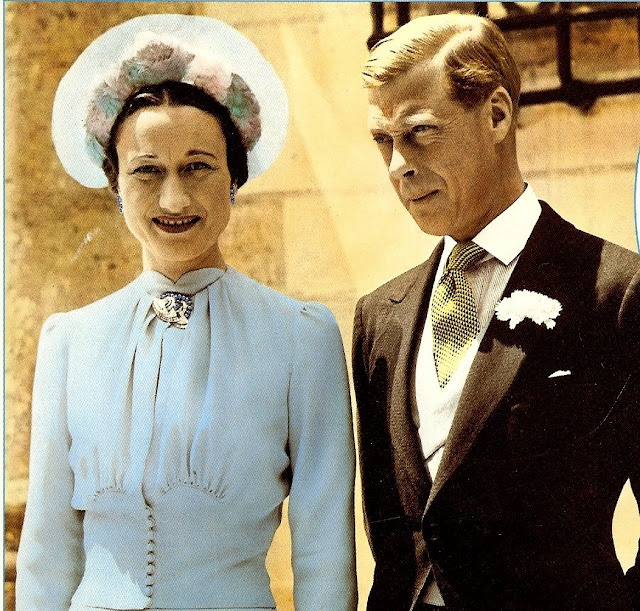 Image result for duke of windsor married wallis simpson