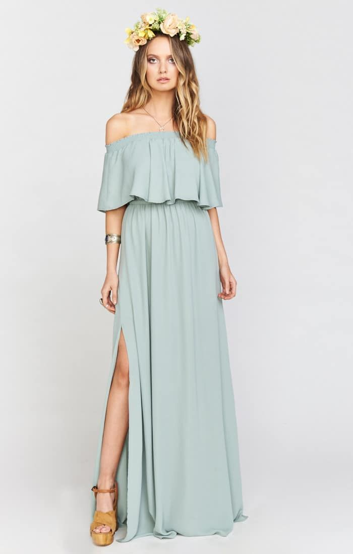 Sage Green Bridesmaid Dresses By Show Me Your Mumu Bridesmaiddresses
