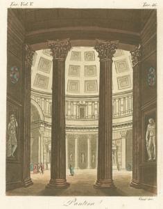 Interior of Pantheon. (1823-1838)