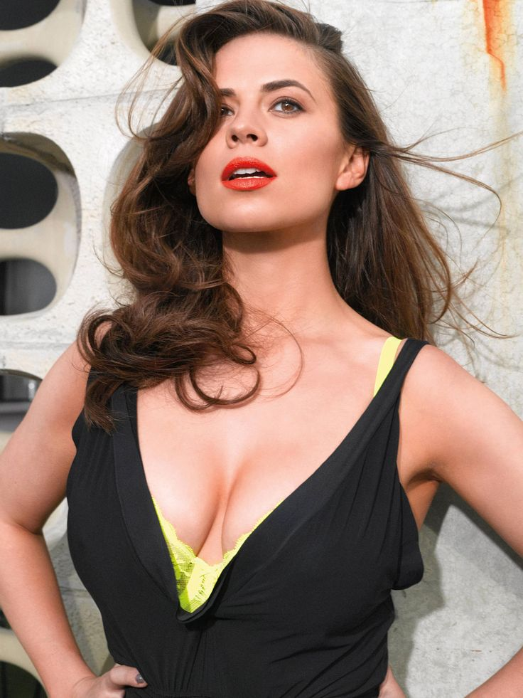 Hayley Atwell - Sexy Cleavage -For More Hot Pics Check -3935