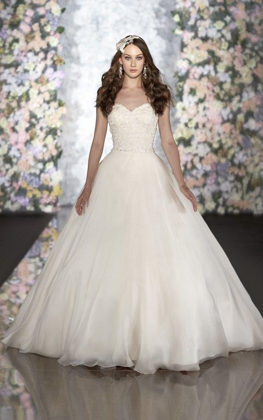 496 Ball Gown Wedding Dress By Martina Liana