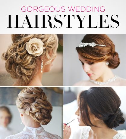 11 Gorgeous Wedding Hairstyles