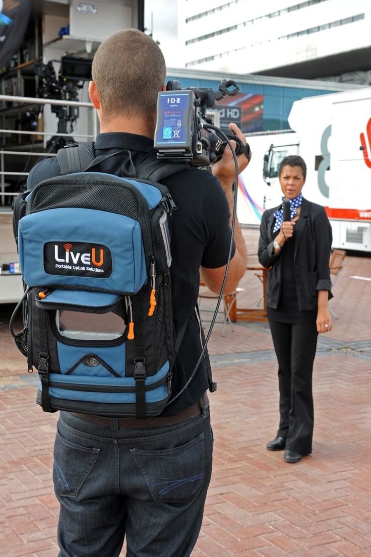 Live U Backpack - Live streaming from the field #hyperlocal