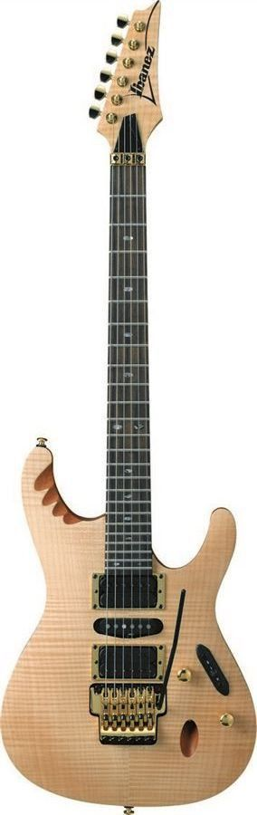 Ibanez EGEN8 PLB Herman LI Signature Electric Guitar   Platinum Blonde