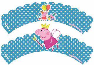 Kit Festa Peppa Pig Princesa Para Imprimir Grátis