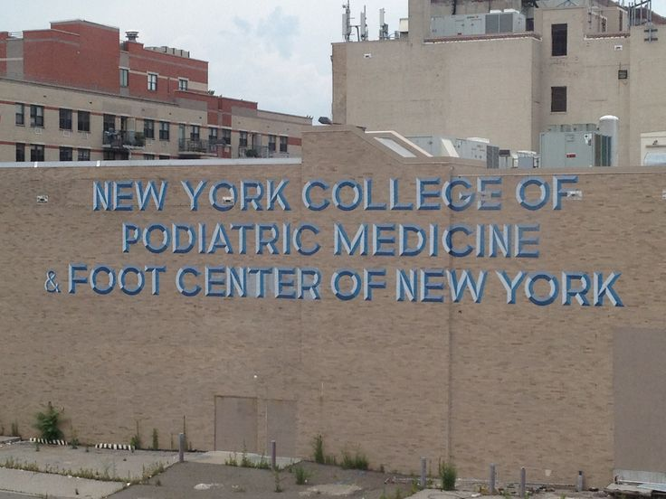 NY college of podiatric medicine