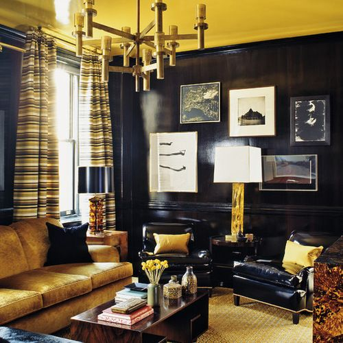 Black And Gold Ideas, Pictures, Remodel And Decor