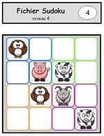 Sudoku - grilles 6 niveaux laclassededelphines