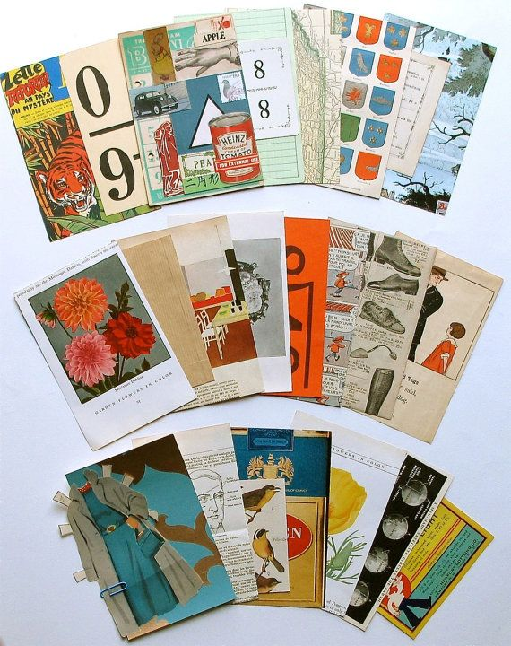 Vintage papers from Exquisite Papers
