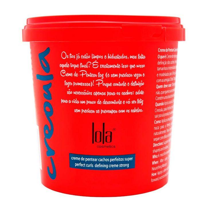 Creme para Pentear Lola Creoula Cachos Perfeito 930g | Ikesaki Cosméticos - Ikesaki