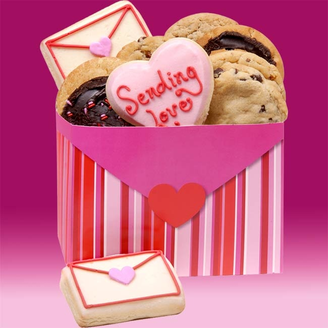 Love Letters Gourmet Cookie Box