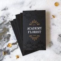Academy Florist Rebrand | Ashley Nicole