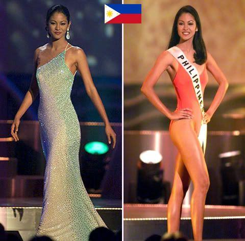 Miss Universe 1999 1st Runner-Up Miriam Quiambao