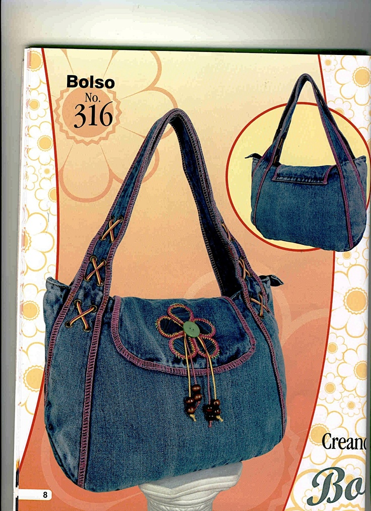 .jeans bag