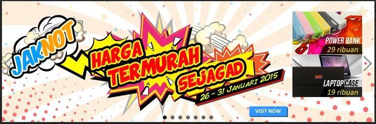 Harga Termurah Sejagad di Jakarta Notebook, 26-31 Januari 2015