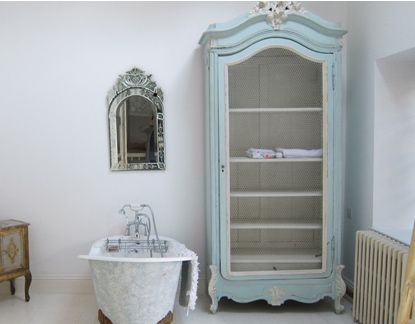 17 Best images about Shabby chic armoires on Pinterest  Painted ...