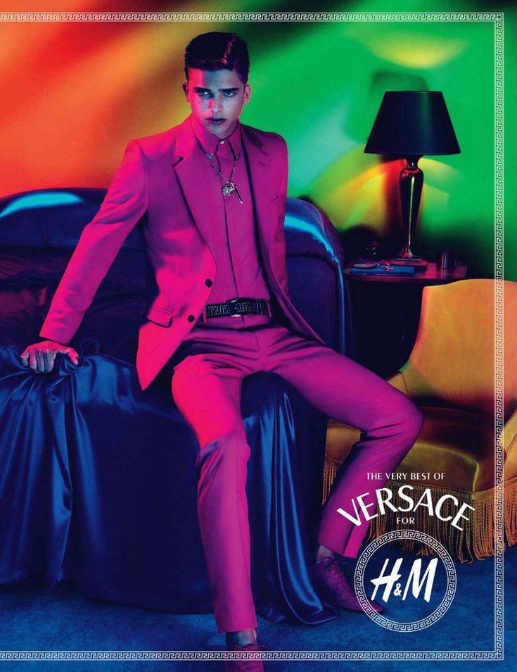Versace h m yellow dress tunic