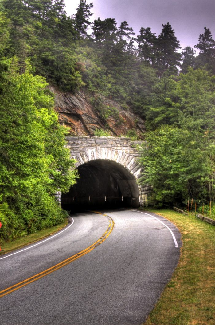 3. Rough Ridge Tunnel - milepost 349.0