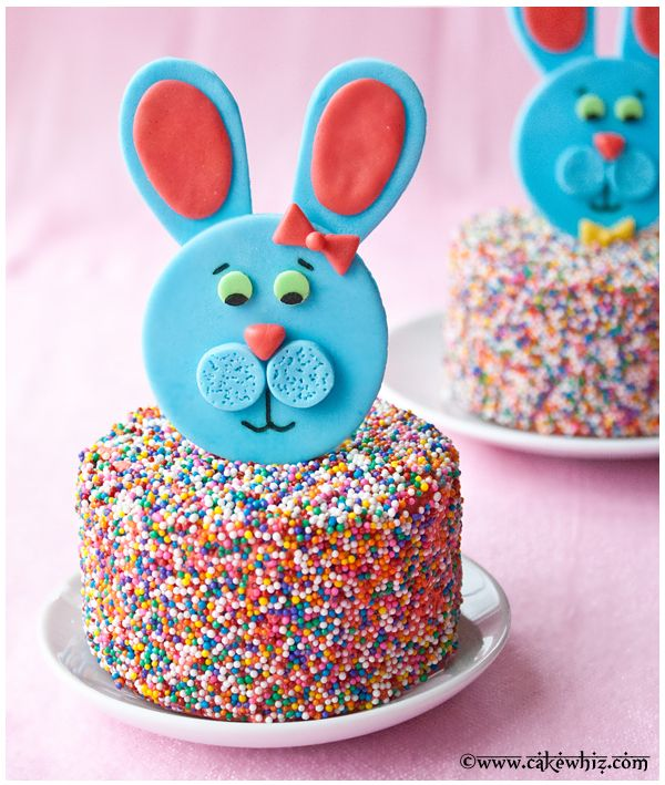 Easter bunny toppers tutorial