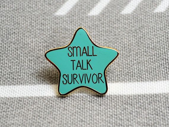 Enamel Pin Flair Pin Quotable Be Who You Are