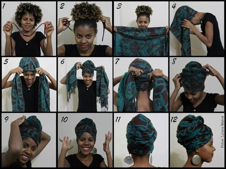 Headwrap instructions