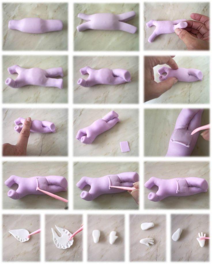 Passo a Passo Minnie Baby por Magda Botezeli