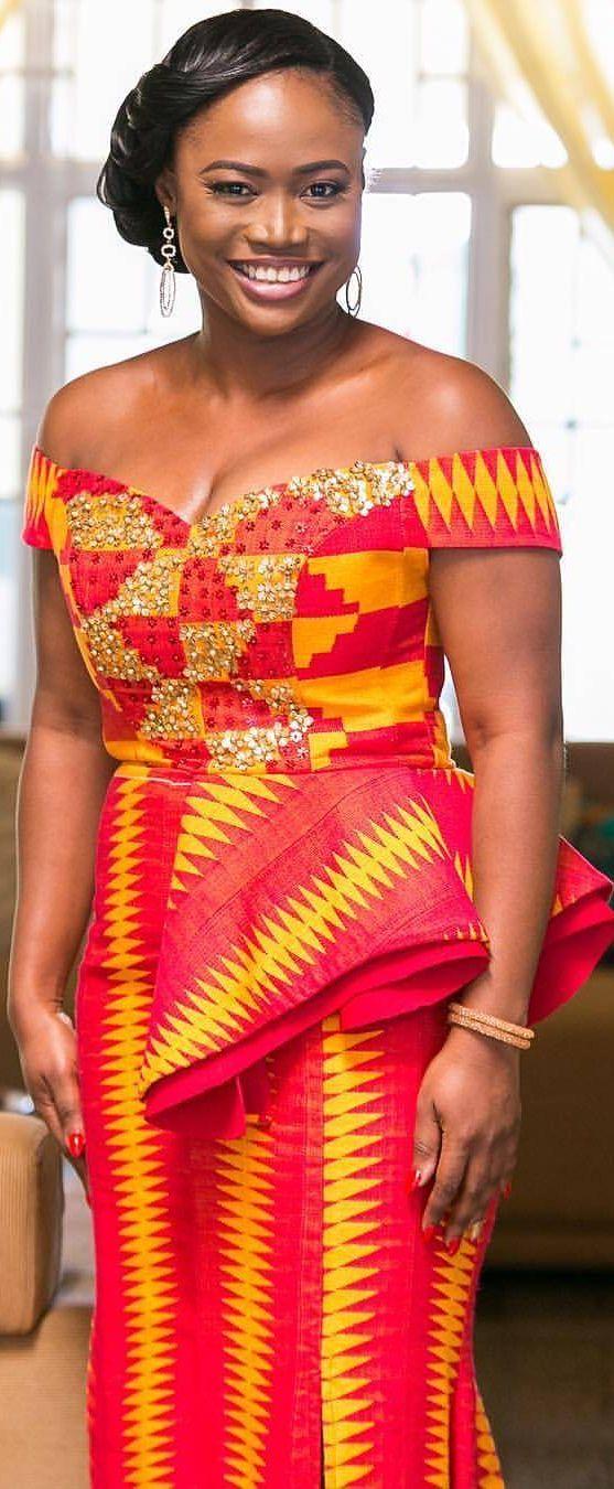 Kente wedding dress, African fashion, Ankara, kitenge, African women dresses, African prints, African men's fashion, Nigerian style, Ghanaian fashion, ntoma, kente styles, African fashion dresses, aso ebi styles, gele, duku, khanga, vêtements africains pour les femmes, krobo beads, xhosa fashion, agbada, west african kaftan, African wear, fashion dresses, asoebi style, african wear for men, mtindo, robes de mode africaine.