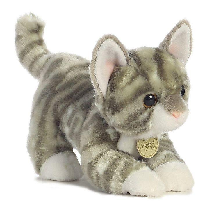 "Miyoni by Aurora Grey Tabby Kitten 9"""