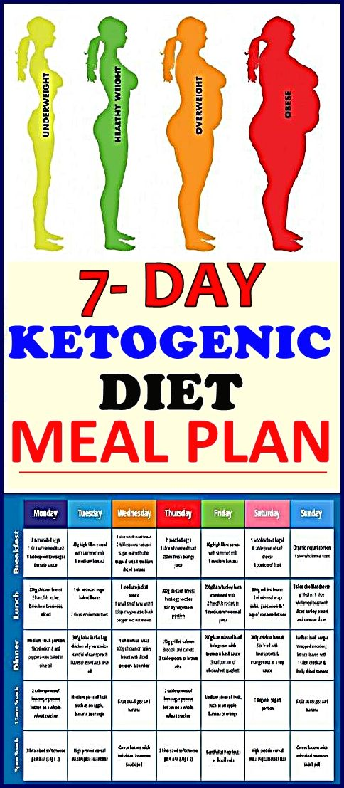 KETOGENIC DIET PLAN FOR BEGINNERS: 7-DAY KETO MEAL PLAN