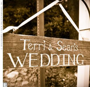 Diy Wooden Wedding Signs Love Of Family Home