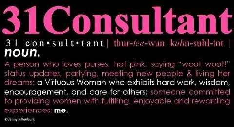 Logo for my team t-shirt for the 2012 National Conference  #ThirtyOneConsultant #ThirtyOne
