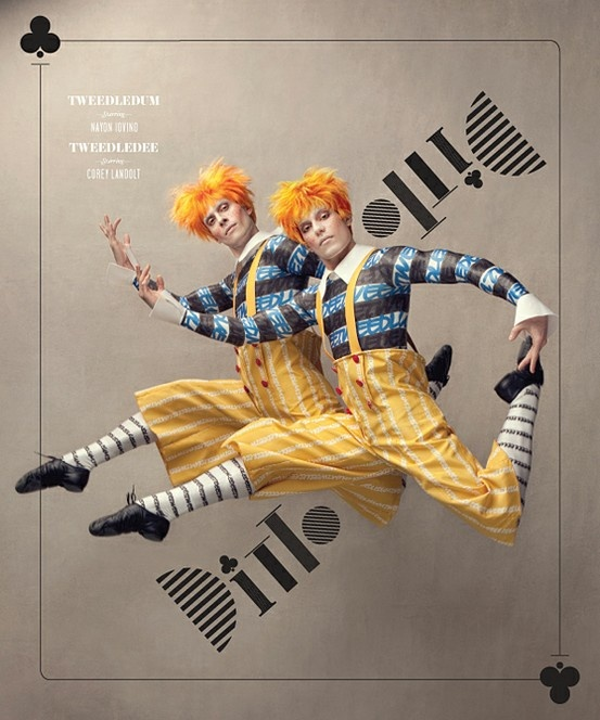 Washington Ballet's Alice in Wonderland / Tweedle Dee and Tweedle Dum (Costume Design By Liz Vandal)