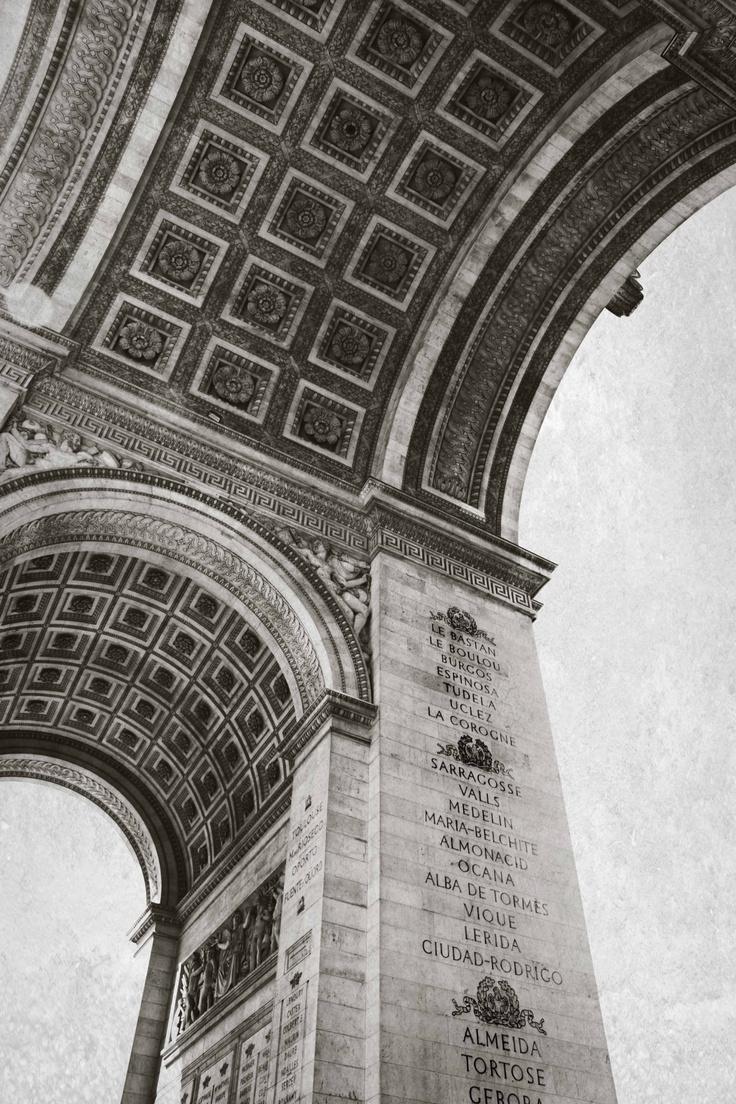 Arc de Triumph, Paris.