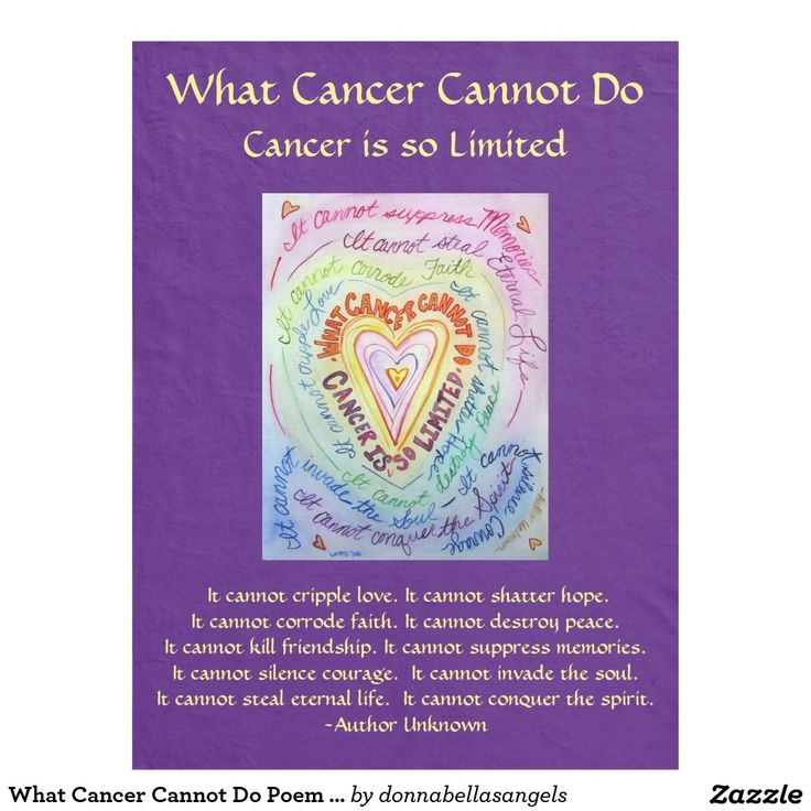 do cancer cannot breast poem what