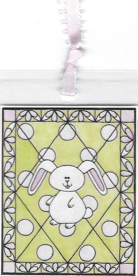 Baby Bunny Bookmark