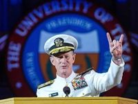 Adm. William H. McRaven is the   ninth commander of U.S. Special Operations Command. He is a Navy admiral and  former commander of SEAL Team 3,  acclaimed for leading the mission  to find Osama bin Laden. On May 17, Adm. McRaven    delivered the commencement address at his alma mater, University of Texas at Austin. Here are his remarks in full.