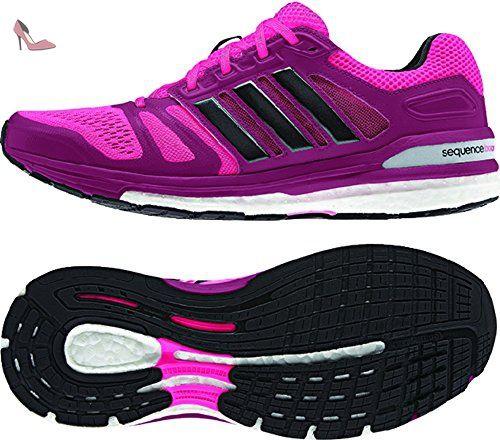 Adidas Supernova Sequence Boost 7 Womens Running Shoe 10 Gras rose-noir - Chaussures adidas (*Partner-Link)