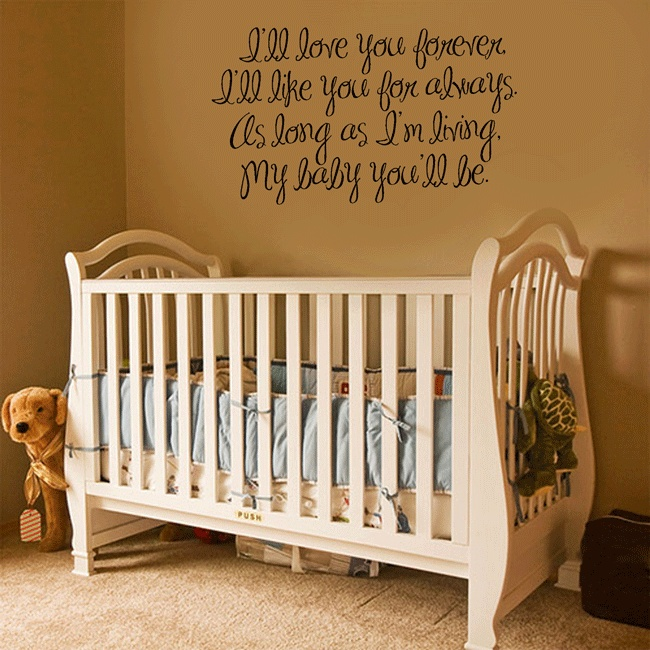 Wall art for baby