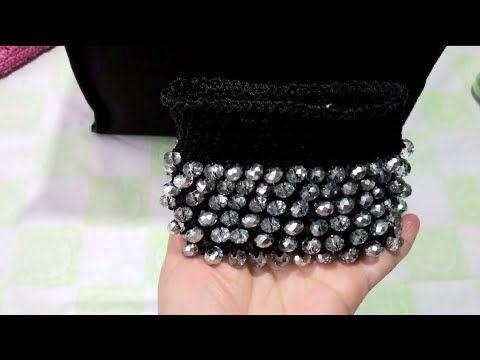 Monedero tejido a crochet con cristales /Lupita Luna Vlogs - YouTube