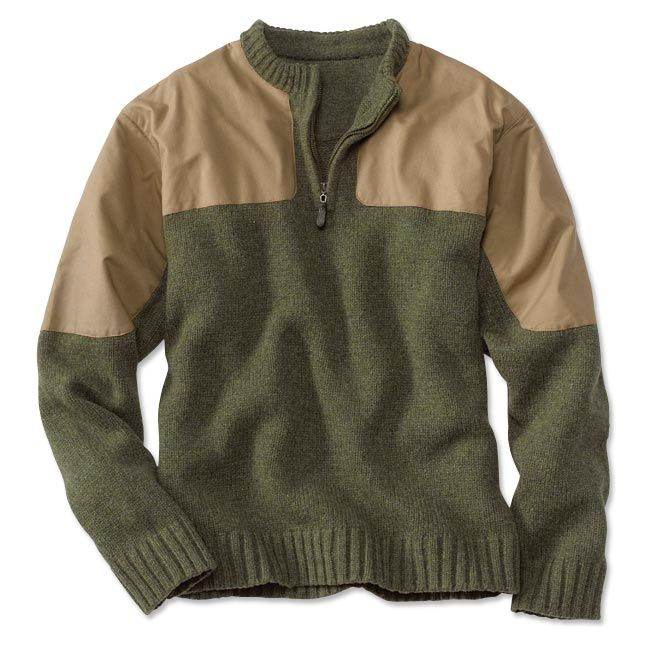 Just found this Mens Wool Hunting Sweater - Upland Sweater -- Orvis on Orvis.com!