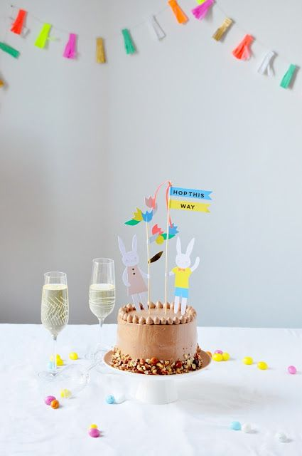 Elodie's Bakery: Banana and Nutella® layer cake | Layer cake à la b...
