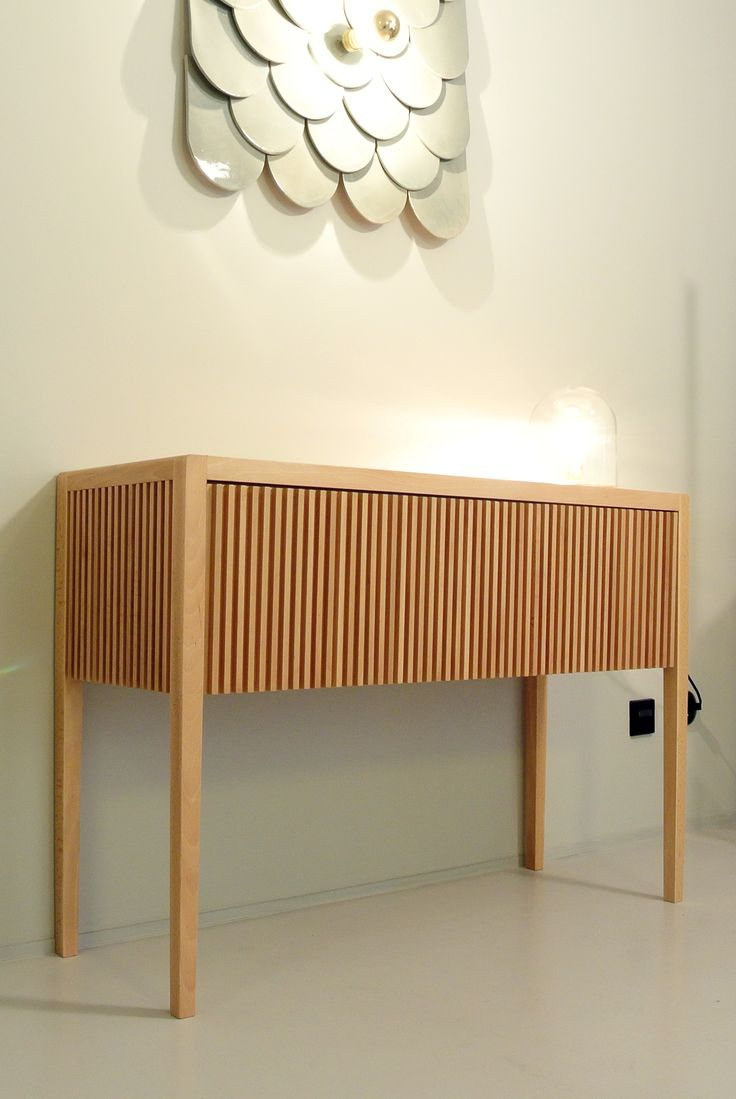 Sideboard and scale lamp