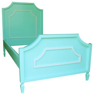 Beverly Bed with Molding traditional kids beds