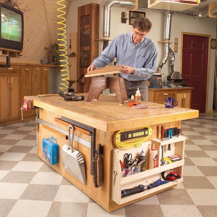 17 Best Images About Rolling Work Tables On Pinterest: 775 Best Workbenches Images On Pinterest