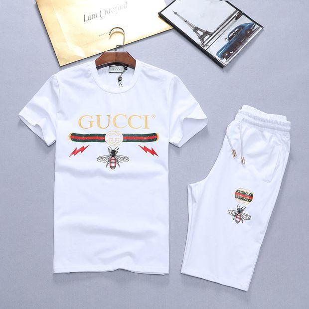 Boys \u0026 Men Gucci Shirt Top Tee Shorts