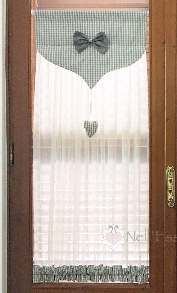 Shabby Style Glass Curtain Tendaggi Curtains Glass Curtain E Shabby