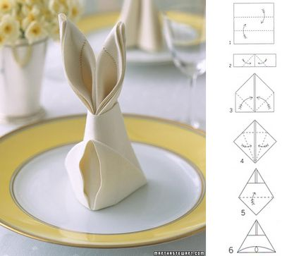 We have an Easter brunch where I work, and this would be super cute for the place settings!