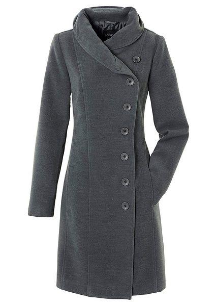 Kabát Kabát se stojáčkem a dvěma • 999.0 Kč • bonprix