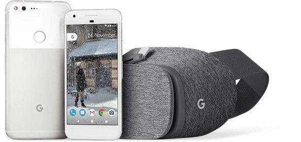 Telekom Weihnachtsaktion: Google Smartphone Pixel mit gratis VR Brille Daydream View -Telefontarifrechner.de News